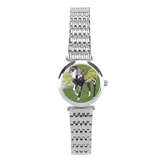 papibaby invierno mitología romana reloj acero inoxidable: Amazon.es: Relojes