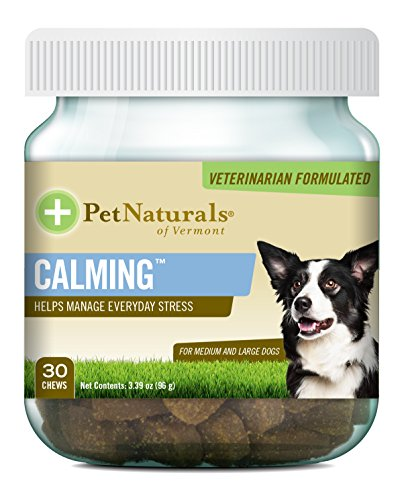 (Pet Naturals of Vermont - Calming, Behavior Support for Medium & Large Dogs-30 Soft Chews)