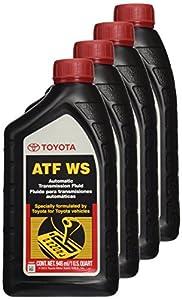 Toyota Genuine Lexus Automatic Transmission Fluid 1QT WS ATF World Standard from Toyota