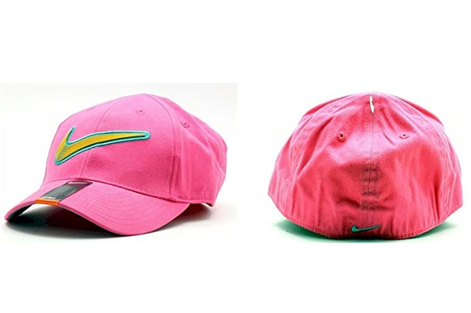 b1fb5ebf033 Image Unavailable. Image not available for. Colour  Nike Girl s Embroidered  Nike Swoosh Logo Baseball Cap Sz 4 6X
