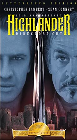 Highlander 1 [USA] [VHS]: Amazon.es: Christopher Lambert ...