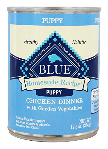 Blue Buffalo Puppy Homestyle Recipe – Chicken – 12.5 Oz