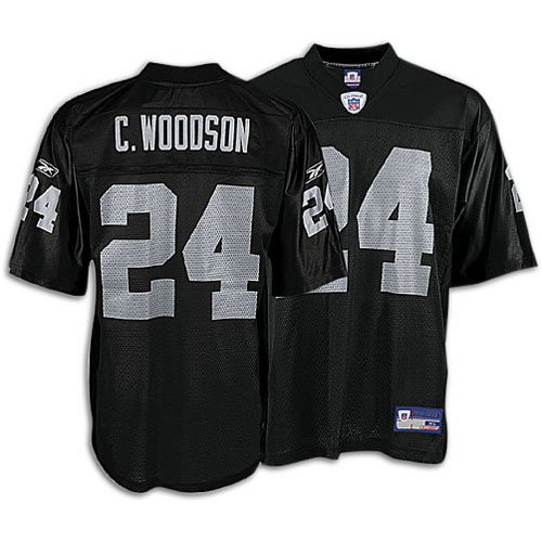 new product 3ae65 9932c Amazon.com: Charles Woodson Jersey - Oakland Raiders NFL ...