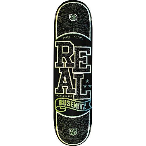 まさに極小ブラインドReal Skateboards Dennis Busenitz Holographic Low Pro IIスケートボードデッキ – 8.06 X 31.8」