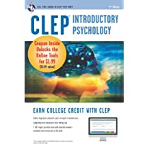 CLEP Introductory Psychology w/ Online Practice Exams (CLEP Test Preparation)