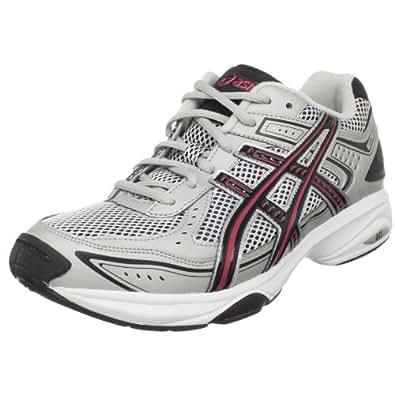 ASICS Men's GEL-Express 3 Cross-Training Shoe,White/Silver/Black,10 M