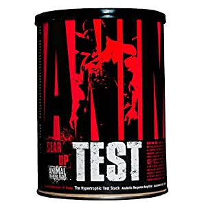 Universal Nutrition Animal Test Testosterone Booster - Pro Anabolic Hormone Supplement for Bodybuilders with Arachidonic Acid, 21 Servings/packs