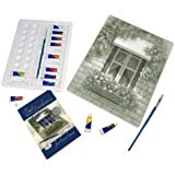 Royal & Langnickel Paint Your Own Masterpiece Painting Set, European Window