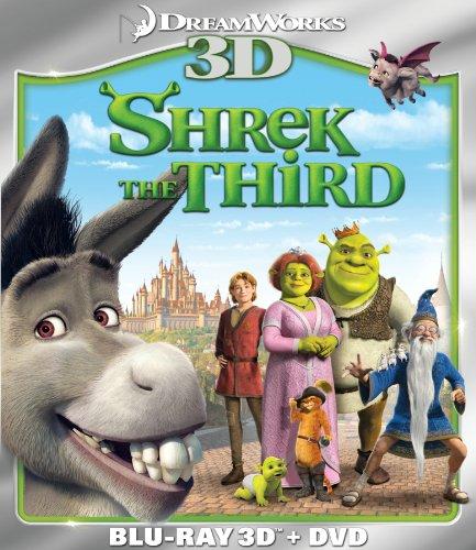 Shrek the Third (Two-Disc Blu-ray 3D/DVD Combo) (The Best Of Cheri Oteri)