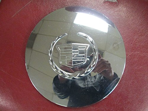 Factory Center Cap - 17 Inch 2002 2003 2004 2005 2006 Cadillac Escalade ESV EXT Factory Original Oem Chrome Plated Center Cap Wheel Rim Cover Hubcap 9594877 9594878 4575