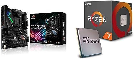 Pack de procesador AMD Ryzen 7 2700X y Placa Base ASUS ROG Strix X470-F: Amazon.es: Informática