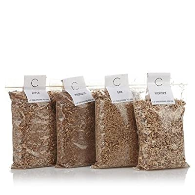 Curtis Stone Indoor Smoker Wood Chips Variety 4-Pack from Curtis Stone