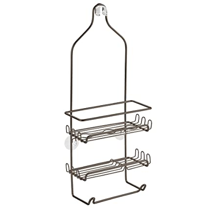 Amazon.com: InterDesign Milo Shower Caddy - Bathroom Shelves for ...