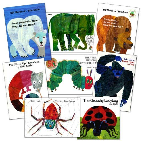 Kaplan Early Learning Company Eric Carle Board Books - Set