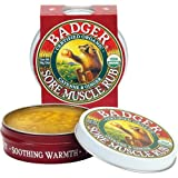Badger Muscle Rub Organic Certified Organic Cayenne & Ginger Soothes & Relaxes 21g