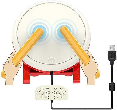 Althemax® Tambores y palos Controlador Taiko para consola Nintendo Switch Accesorios para juegos para N-Switch: Amazon.es: Videojuegos