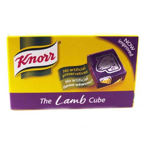 Knorr Lamb Stock Cubes 8 Pack 50g ()