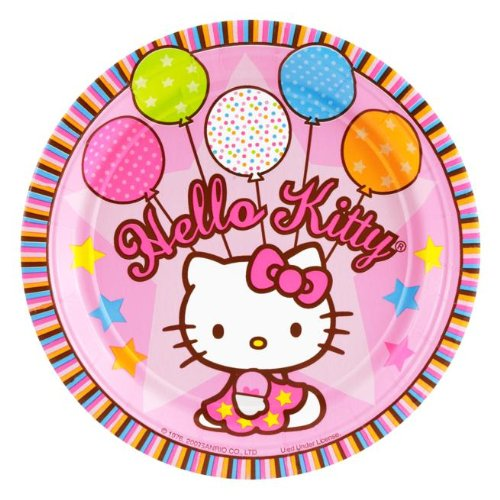 Hello Kitty Balloon Dreams Dessert (Balloons Dessert Plate)
