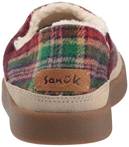 Sanuk Little Bootah Us Women's Vintage 5 M Rainbow Slipper r5xrwE87