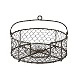 Park Designs Storage Chickenwire Plate Holder Cabinet Organizers