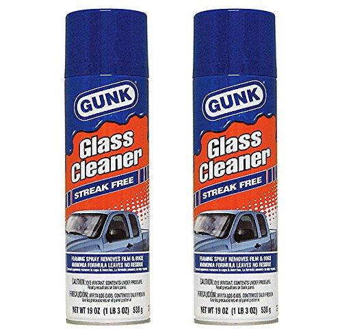 2-Pack Gunk Streak Free Glass Cleaner