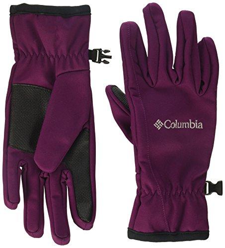 Columbia Women's W Kruser Ridge Softshell Glove, Dark Raspberry, L