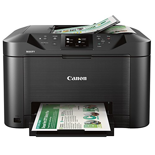 Canon Office and Business MB5120 All-in-One Printer, Scanner, Copier and Fax, with Mobile and Duplex Printing (Best Rated Home Printers)