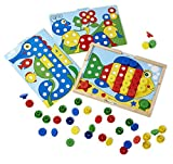 Image of Melissa & Doug Sort and Snap Color Match - Sorting and Patterns Educational Toy