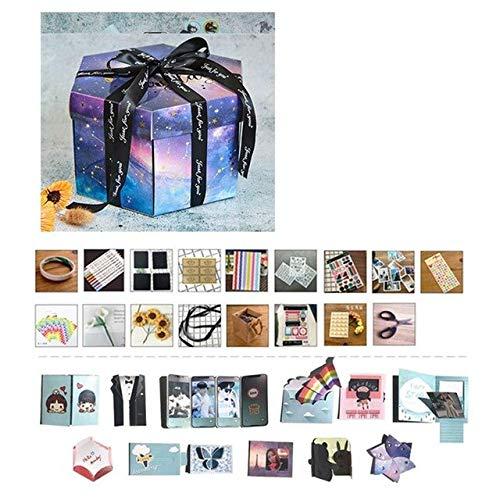Aquatx Explosion Gift Box DIY Creative Album Gift Box Handmade DIY Photo Gift Box Explosion Gift Box for Birthday Surprise Best Gift by Aquatx
