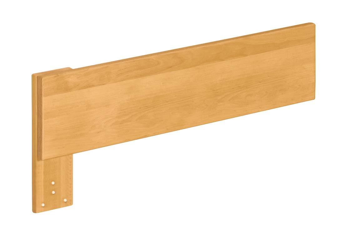 Biokinder Bett Ausfallschutz kurz für Lina Kojenbett Schlafsofa aus Massivholz Erle 80 x 18 cm