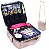 Relavel Cosmetic Case Makeup Case Travel Train Case