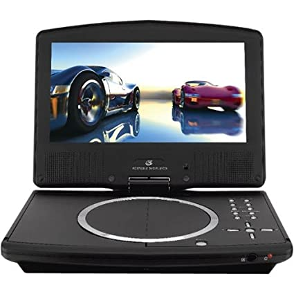 amazon com gpx pd908b 9 tft black portable dvd player with remote rh amazon com Built in TV with DVD Player TV with DVD Player