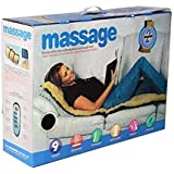 Scienish 9 Motors Full Body Massager Vibration Heat 9 Motors Massage Bed
