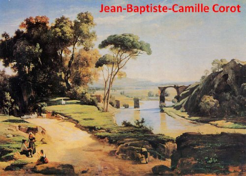 485 Color Paintings of Jean-Baptiste-Camille Corot - French Landscape Painter (July 17, 1796 - February 22, 1875)