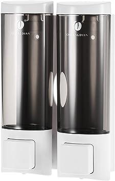 Image ofAnself - Dispensador de jabón Doble para Pared, Jabonera de loción líquido, 2x200ml