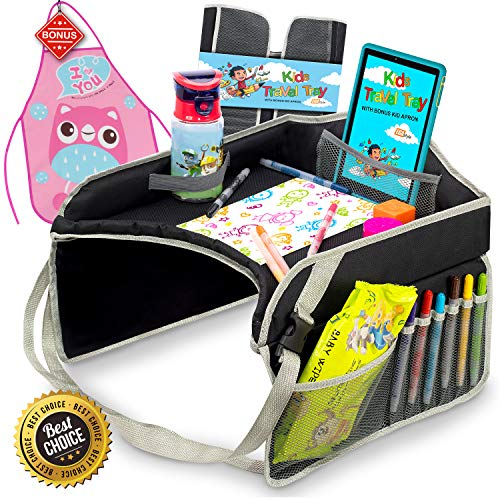 Kids Travel Play Tray By KENLEY KIDS
