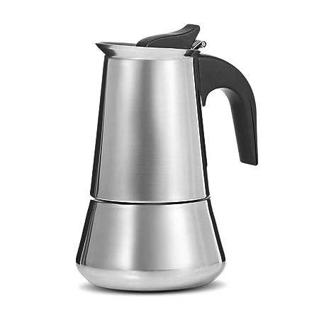 KOIYOI Cafetera Moka de Acero Inoxidable, cafetera de café ...