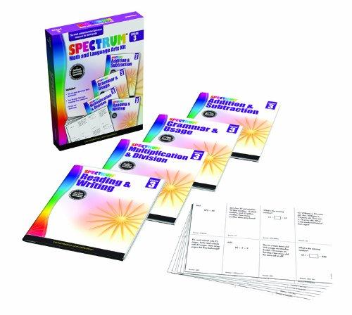 Download Spectrum Math and Language Arts Kit, Grade 3 PDF