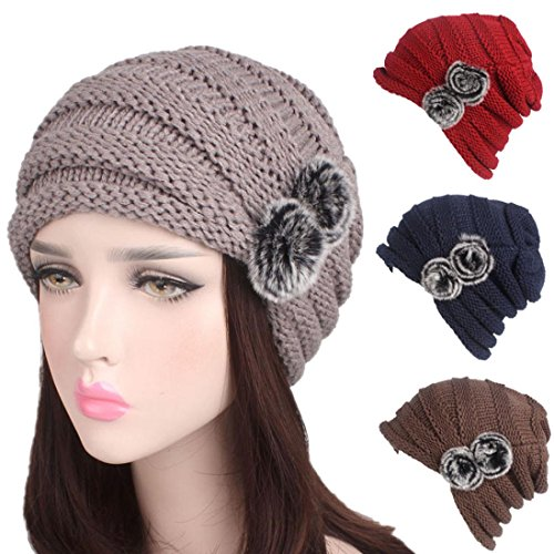 gbsell-women-elegant-warm-chunky-applique-cable-knit-beanie-skully-spor-black