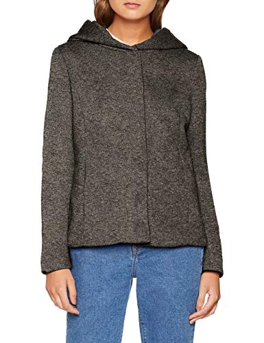 Dark Grey Jacket Grey Gris Mujer Onlsedona Otw Short Chaqueta Dark Melange Only Melange para T8wzqpp