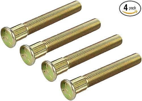 4 OEM Genuine Polaris Wheels Studs 3//8-24x2.68 RZR 570 800 S 7518654