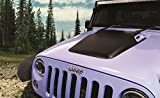 jk hood vent - Daystar, Jeep JK Wrangler Hood Cowl, reduce under hood temperatures, Black, fits 2007 to 2017 2/4WD, KJ71050BK, Made in America