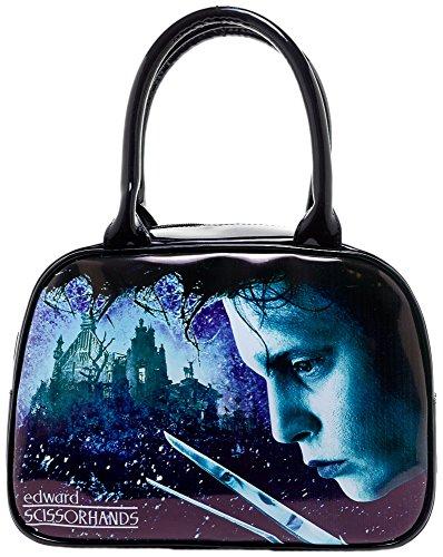 Edward Scissorhands Bowler Handbag Purse (Bag Bowler Small)