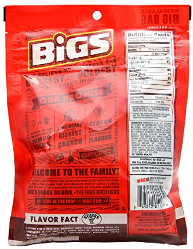 Bigs Sunflower Seed Flavor Variety Pack 9 bags (5.35oz each) with Bonus Magnet by BIGS (Image #2)
