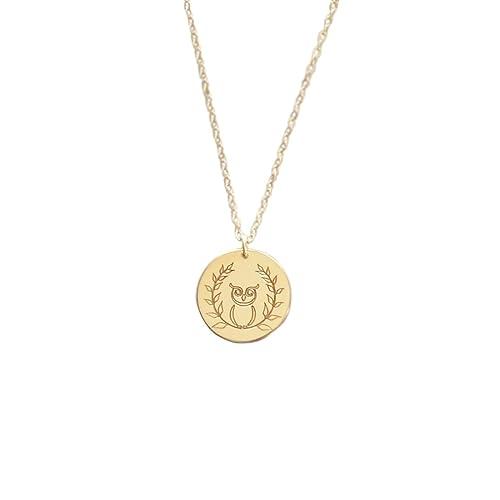 Amazon Greek Inspirational Jewelry Athena Goddess Necklace