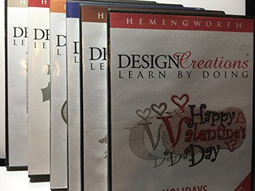 Hemingworth Embroidery Software Digitizing Instructional DVD Program - Design Creations Learn By Doing
