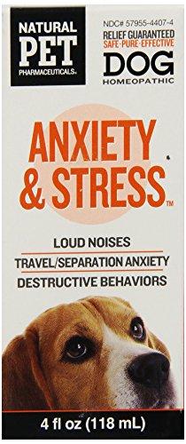 Natural Pet Pharmaceuticals par le roi Bio anxiété et le stress de contrôle pour le chien, 4-once