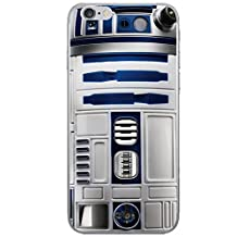 iPhone 5/5s Star Wars Silicone Phone Case / Gel Cover for Apple iPhone 5s 5 SE / Screen Protector & Cloth / iCHOOSE / R2-D2