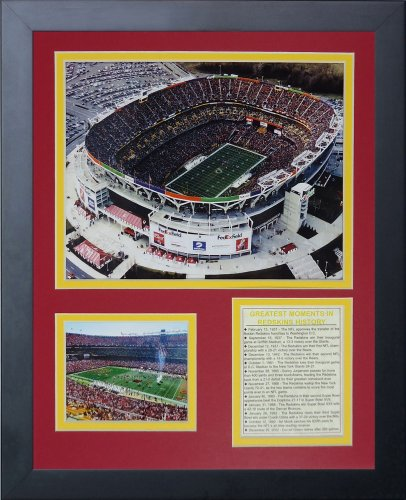 (Legends Never Die Washington Redskins, FedEx Field Framed Photo Collage, 11x14-Inch)