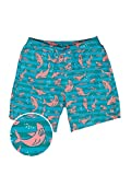 Tipsy Elves Shark Weekender Swim Trunks: X-Large